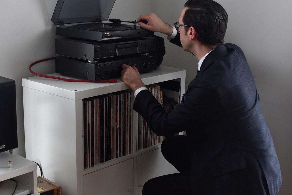 2021-02-13: Grammofoonplatenspeler