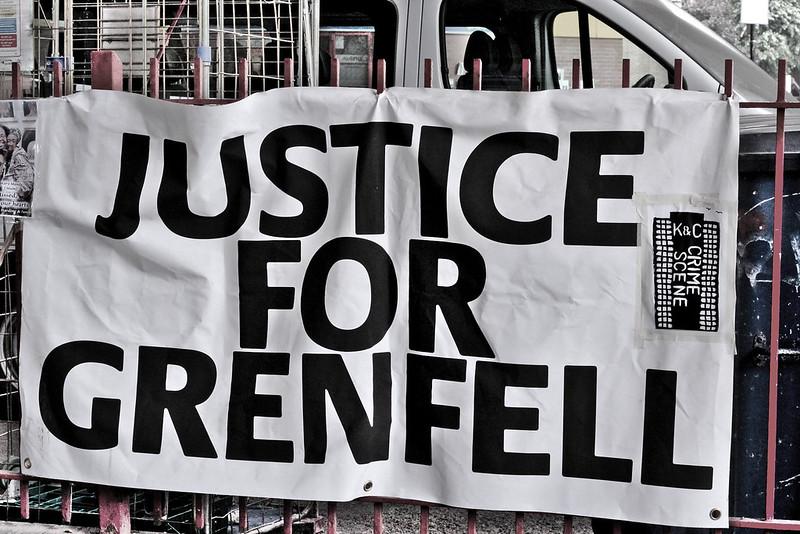 Vigil for Grenfell