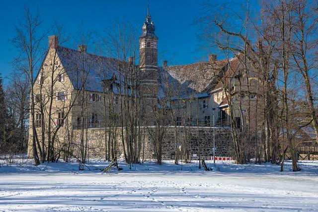 Wintry Burg Vischering