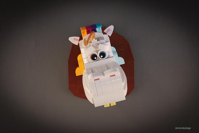 Lego taxidermy. Credit: IG @stensbylego