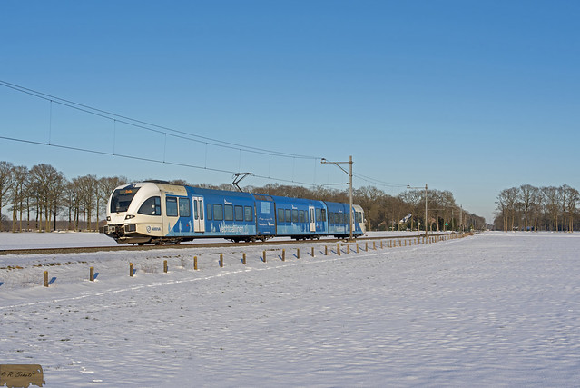 Arriva GTW 516 te Dalfsen.