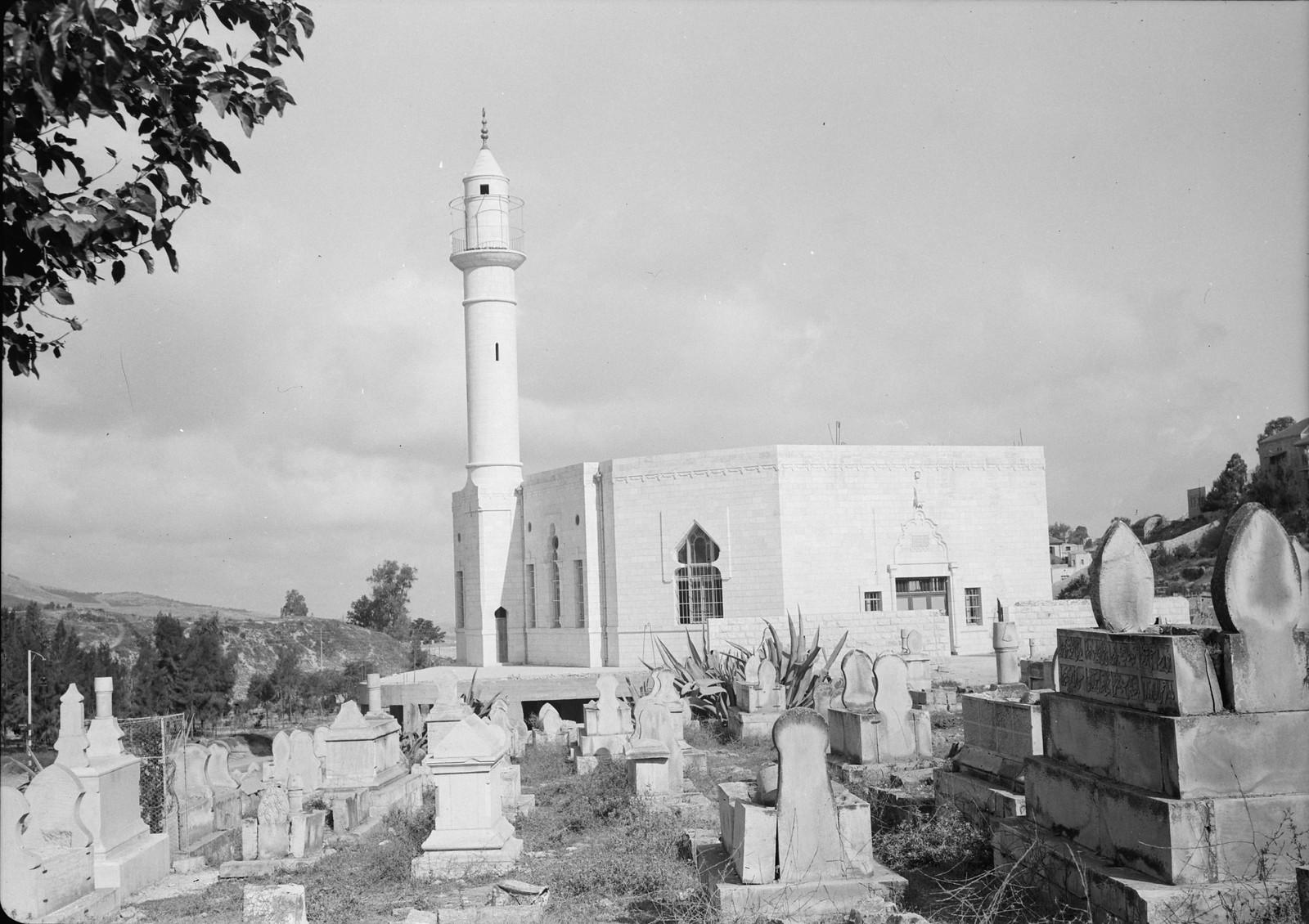12. 1940. Шхем. Внешний вид новой мечети