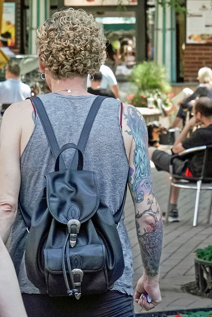 Tattoo - Spooky Organic Forms