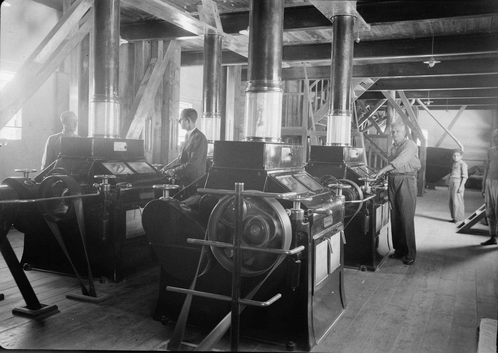 11. 1940. Шхем. The Naameh Flour Mills Ltd. На одном из верхних этажей