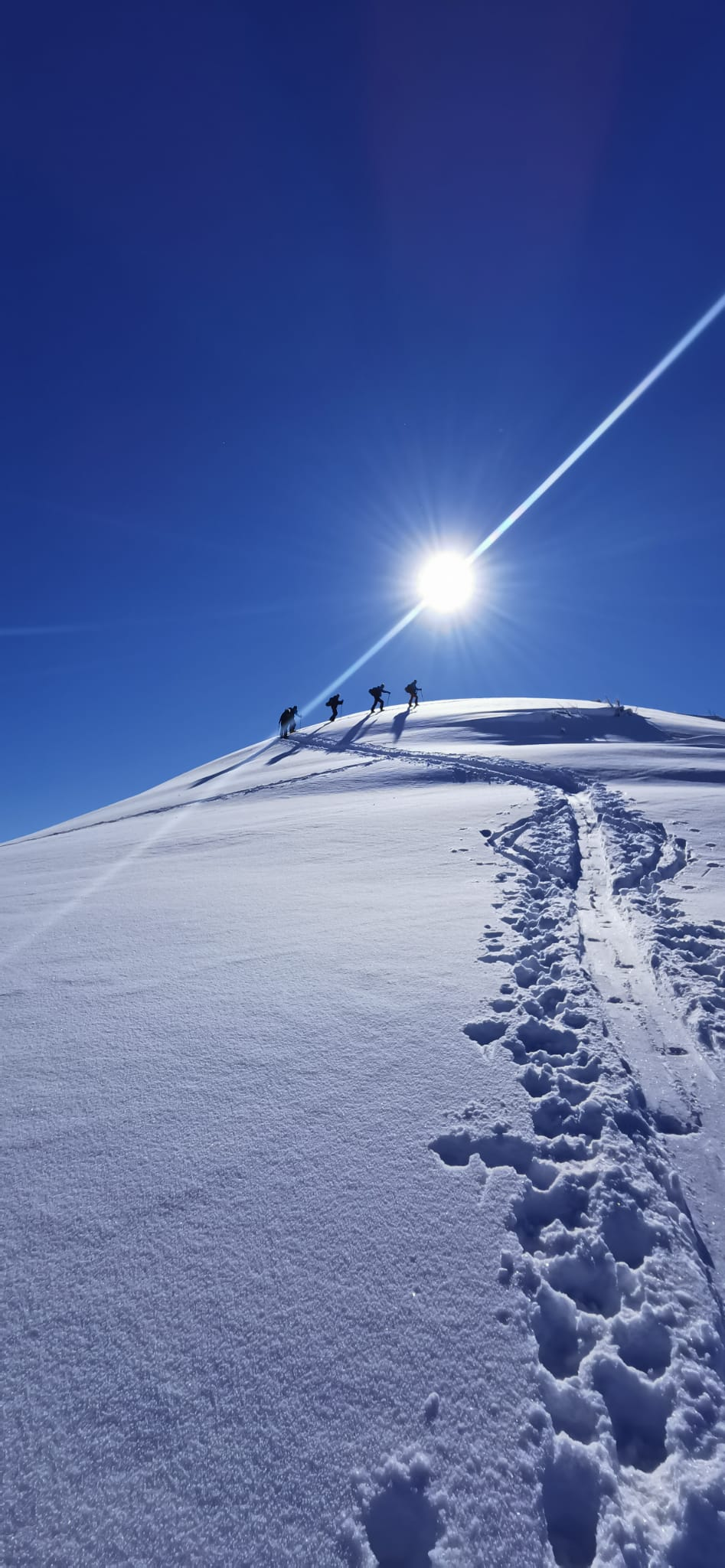Skitour Wannenspitz 2021 mit Manu & Jösi