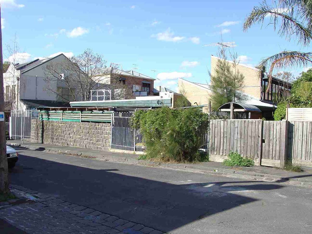 Fitzroy John Street 21-23 REAR CREMORNE Street FACADE