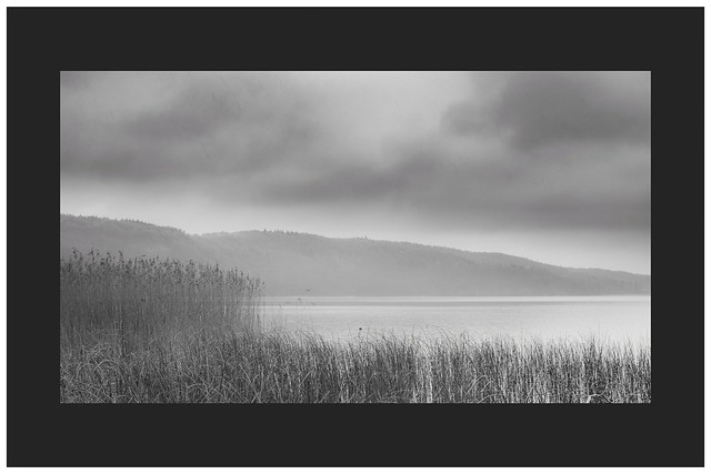 Laacher See - on a rainy evening...