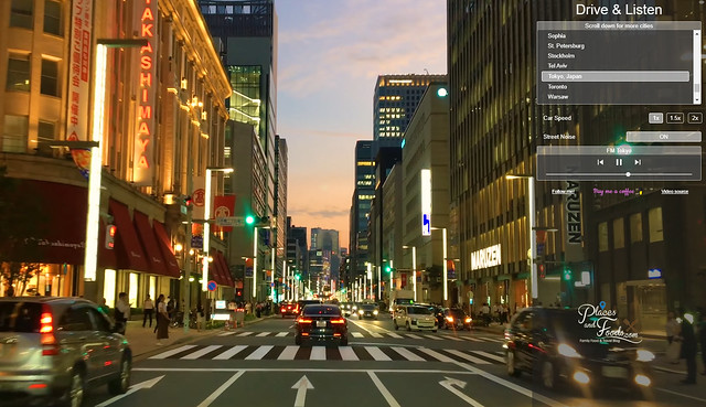 drive and listen tokyo