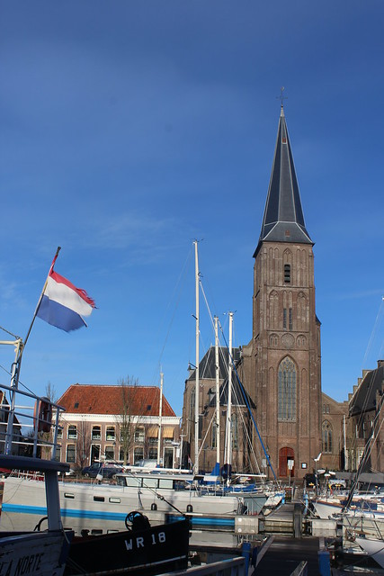 Zuiderhaven with St Michael's Church