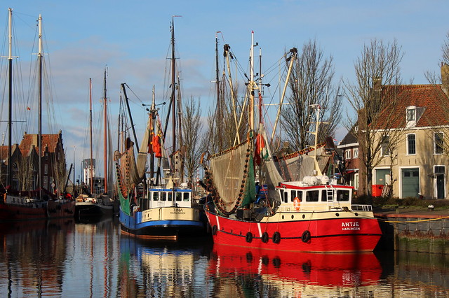 Harlingen fishing boats