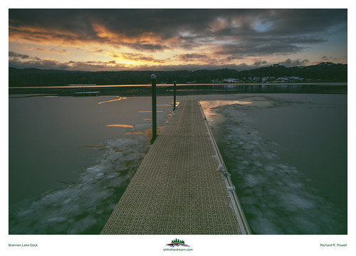 Brannen Lake Dock | by Richard R. Powell