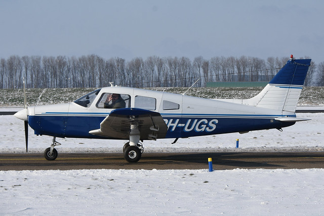 PH-UGS Piper PA.28-161 Warrior II @ Lelystad 12-Feb-2021 by Johan Hetebrij