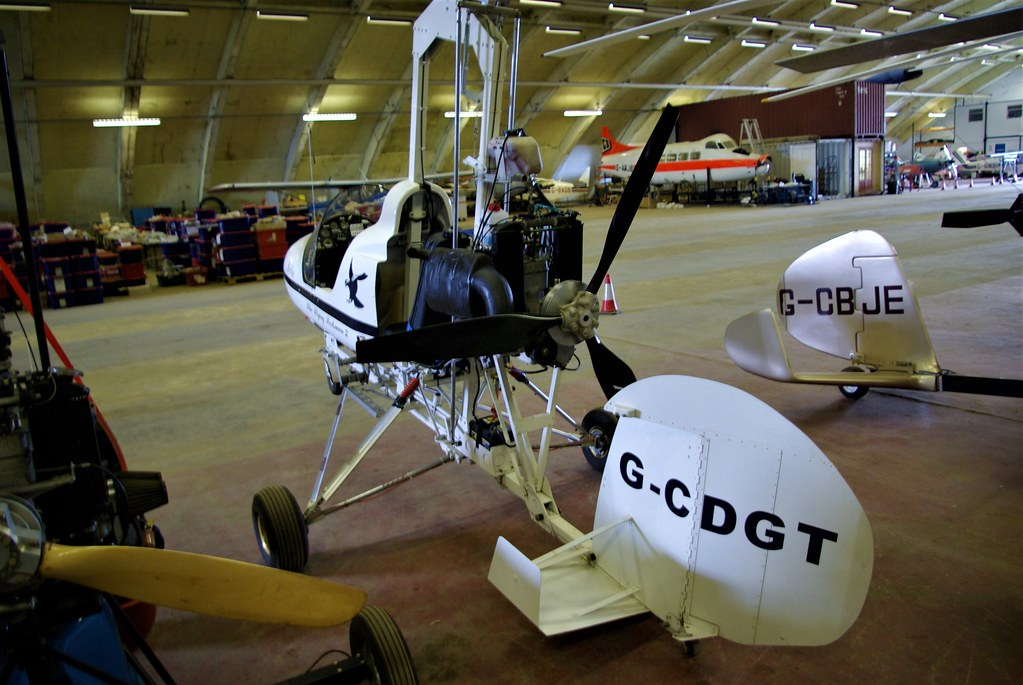 G-CDGT - Parsons Two-Place Gyroplane    Little Rissington