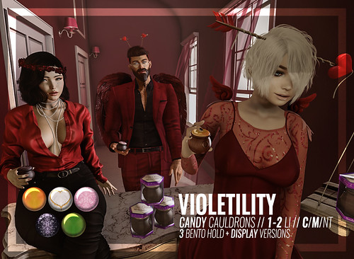 Violetility - Candy Cauldrons Gift