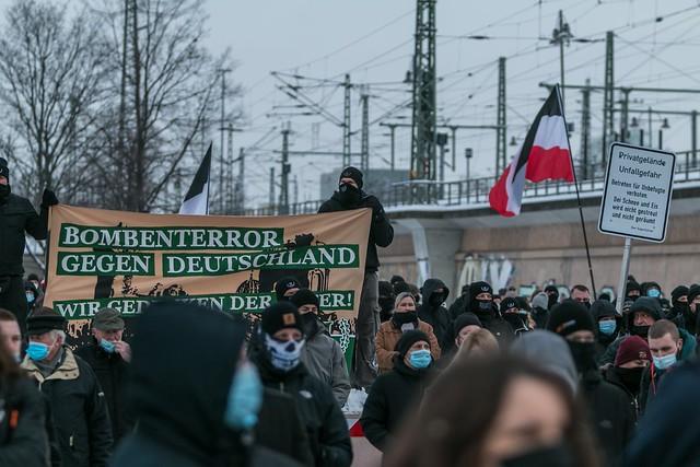 Gedenken an die Bombentoten in Dresden