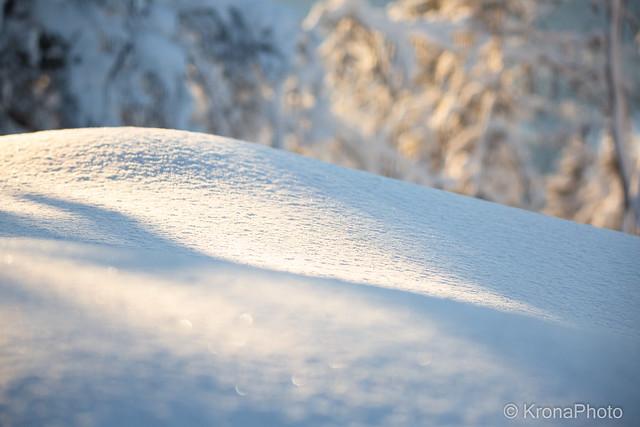 Soft winter shapes, Norefjell, Norway