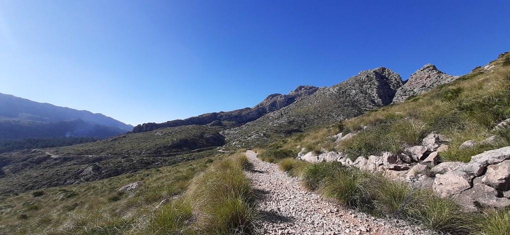 Camí de Ses Coves Blanques, Pollença, Mallorca, 10 febrero 2021
