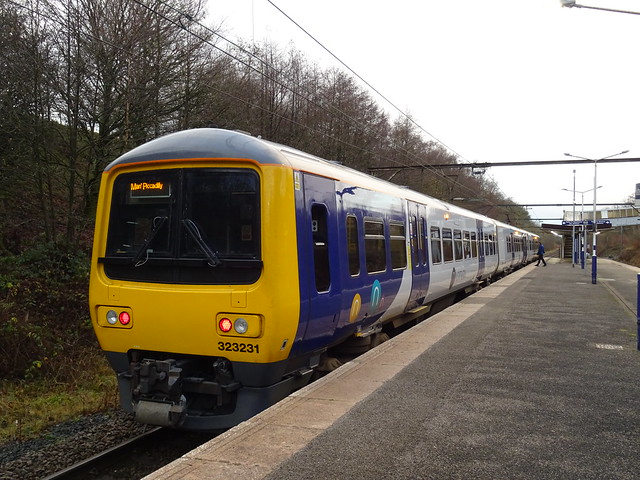 Northern Class 323231 @ Hattersley