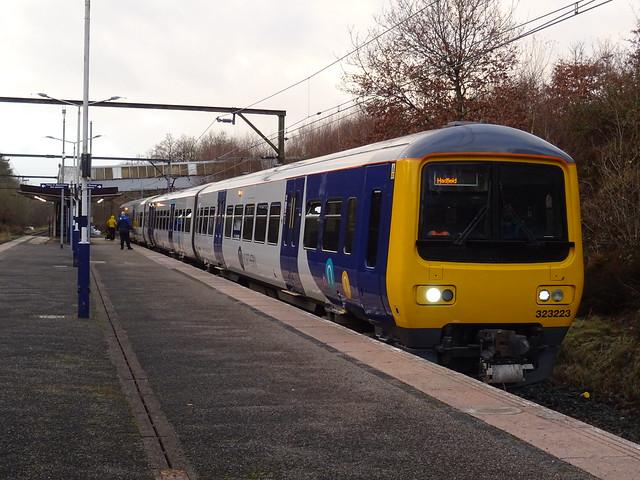 Northern Class 323223 @ Hattersley