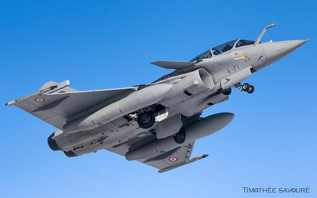 LFSI | Armée de l'Air Dassault Rafale B | 4-FI