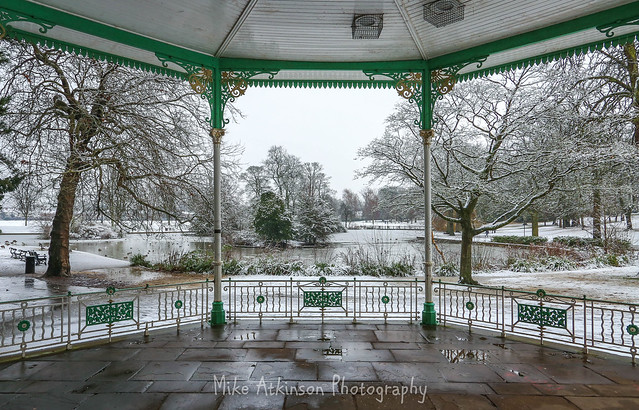 Winter View From The South Park Bandstand