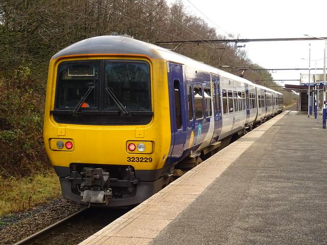 Northern Class 323229 @ Hattersley