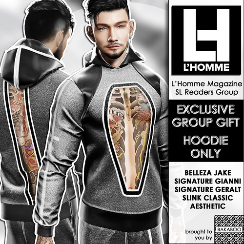 Bakaboo - L'Homme Magazine Group Gift