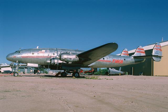 N90831 Lockheed L-049 Constellation  PIMA 12-10-85