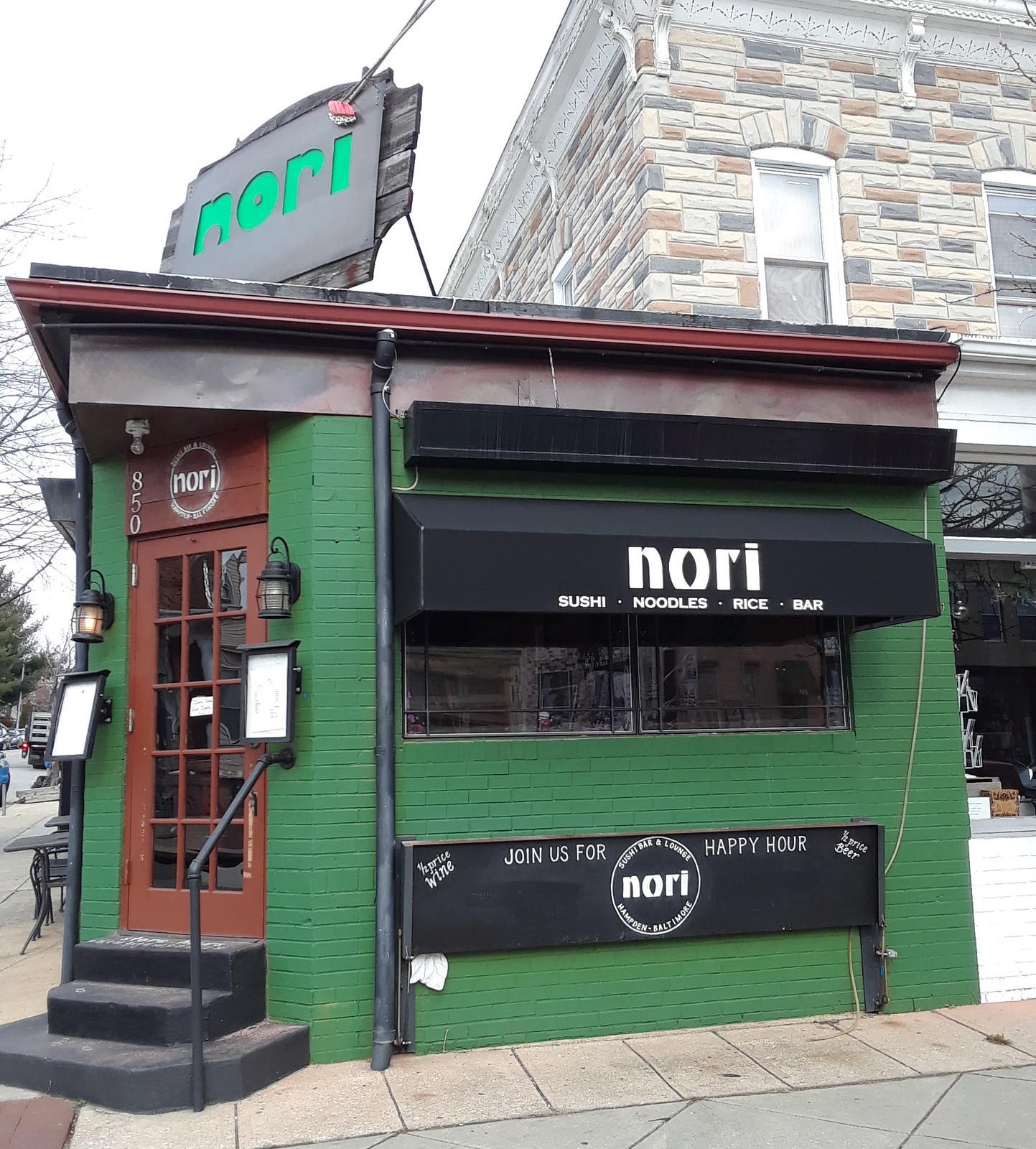 Green-Storefront Hoffman Awning-Baltimore