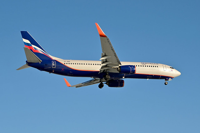 VP-BNP B737-8MC cn 44438 Aeroflot 210213 Schiphol 1002