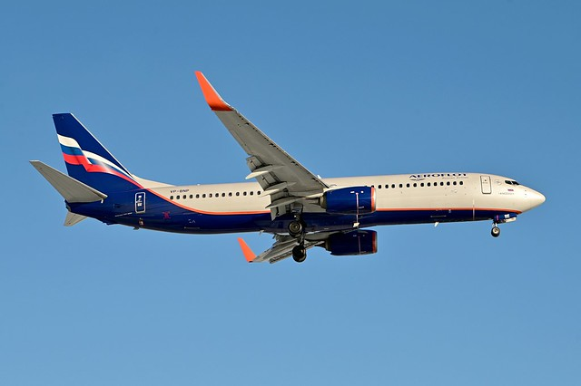 VP-BNP B737-8MC cn 44438 Aeroflot 210213 Schiphol 1001