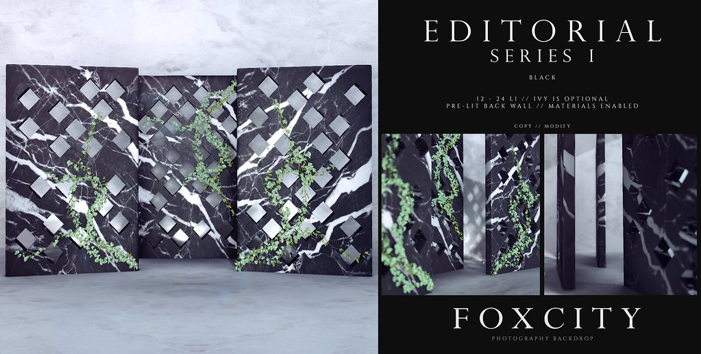 FOXCITY. Photo Booth – Editorial Series I (Black)
