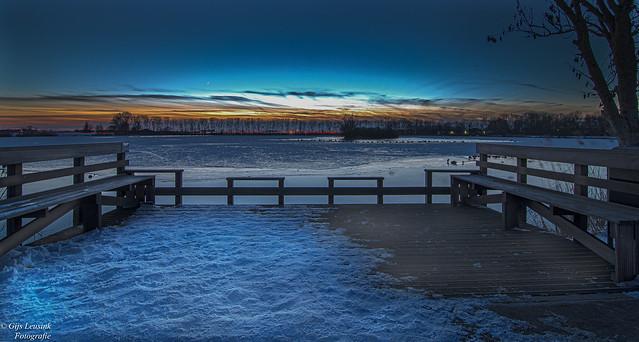 Zonsondergang-Genemuiden Sunset-Genemuiden