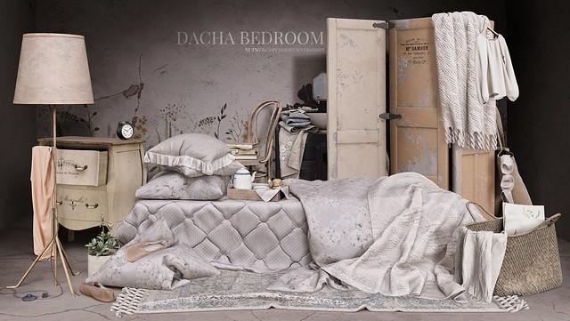 Nutmeg@Dacha Bedroom