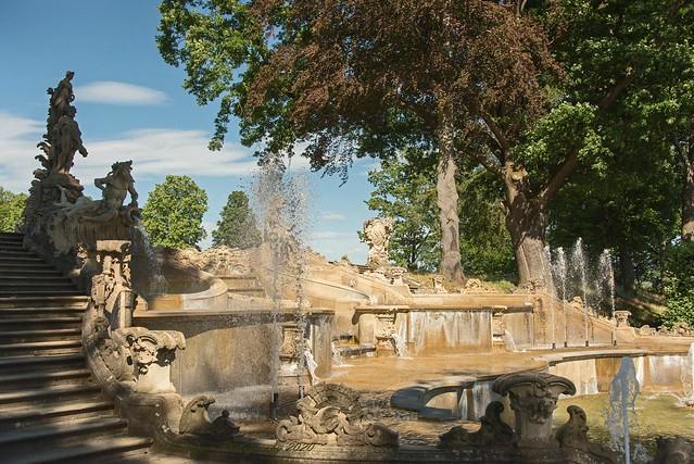 Schloss und Schlosspark Seehof in Memmelsdorf bei Bamberg / 04.07.2020 / Upper Franconia / 01000