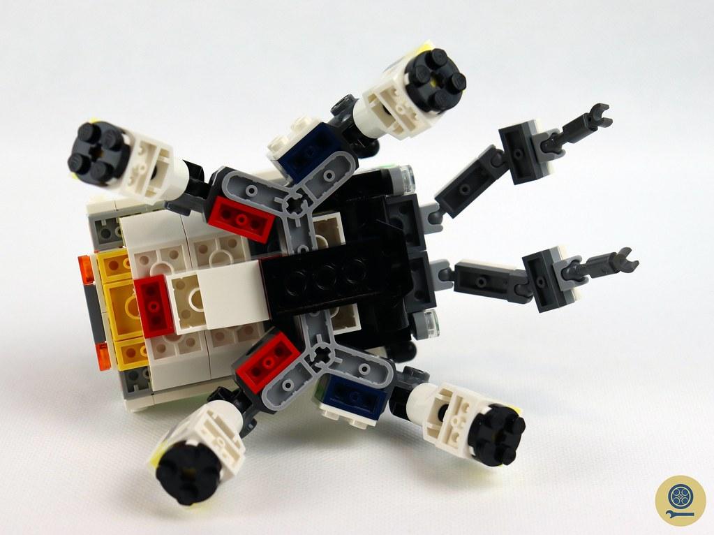 31115 Space Mining Mech 12