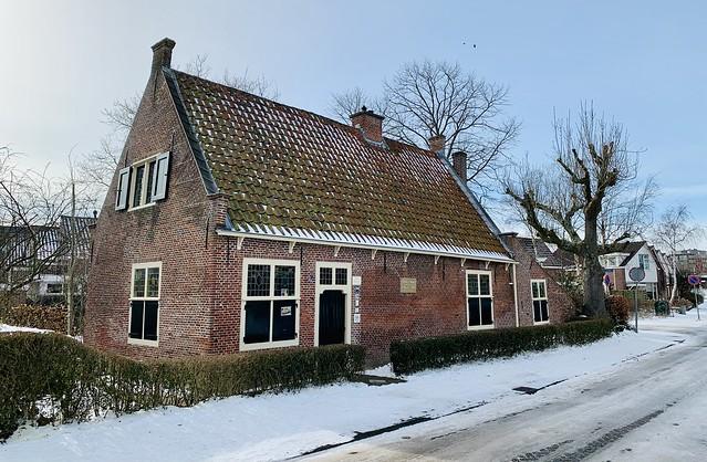 Spinoza house in Rijnsburg (The Netherlands 2021)