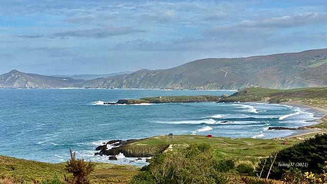 Playa de Santa Comba, en la costa Norte de Galicia.