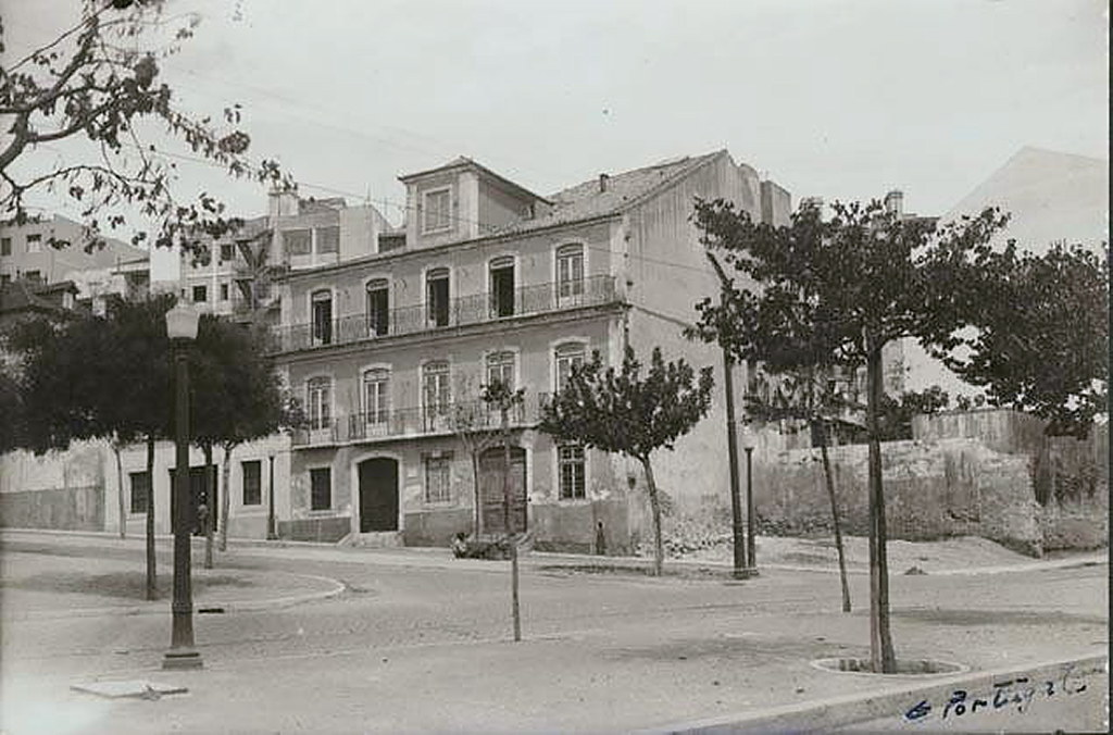 Largo do Leão, Lisboa (E.Portugal, 1946)