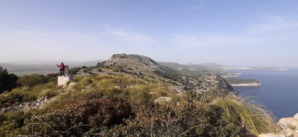 Torre de Cap Vermell, Canyamel, Mallorca, 5 febrero 2021