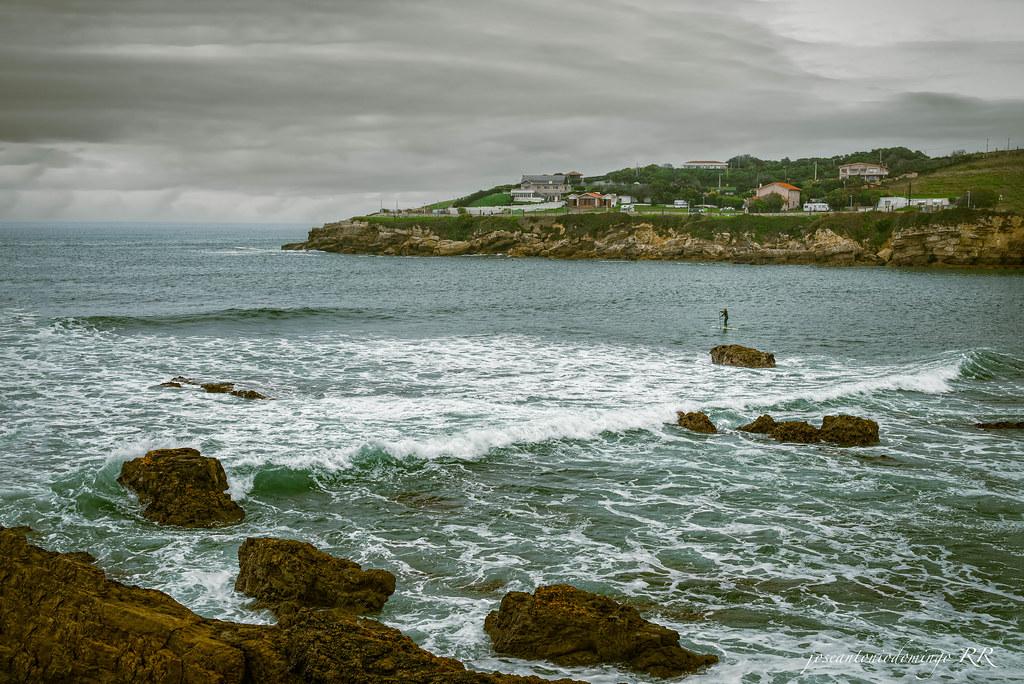 Gijón, costa.