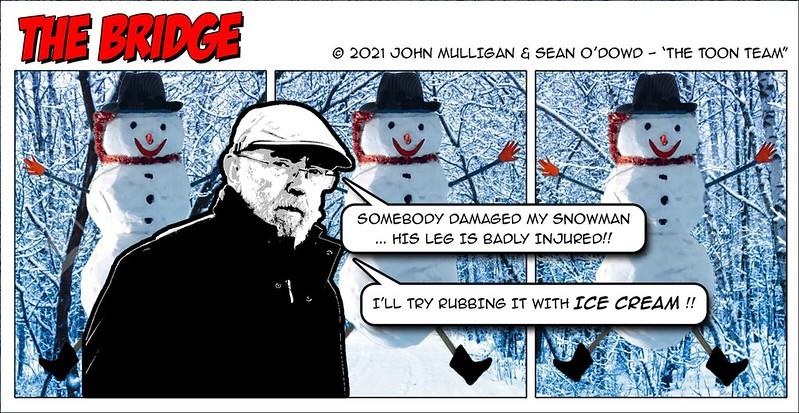The Toon Team - Snowman