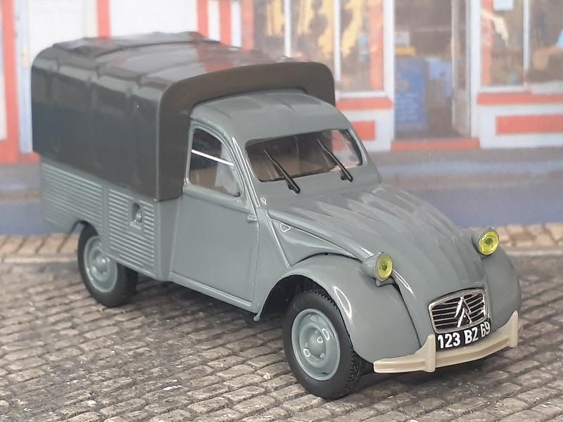 Citroën 2CV PickUp Bache – 1963