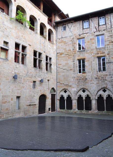 Pierre de Rosette, musée Champollion, Figeac, Quercy, Lot, Occitanie, France.