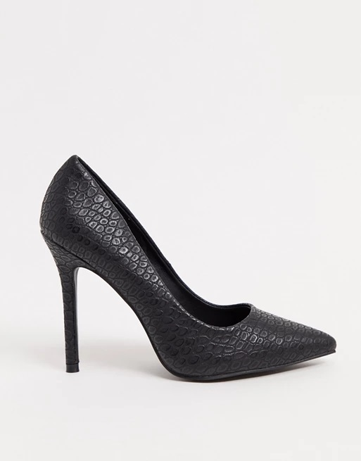 9-asos-faux-leather-black-croc-pumps-shoes