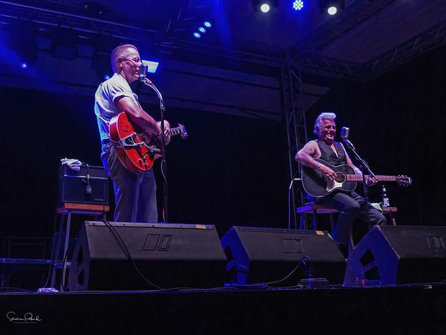 Jim Heath and Dale Watson