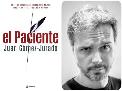 """""""EL PACIENTE"""" de Juan Gómez-Jurado"""
