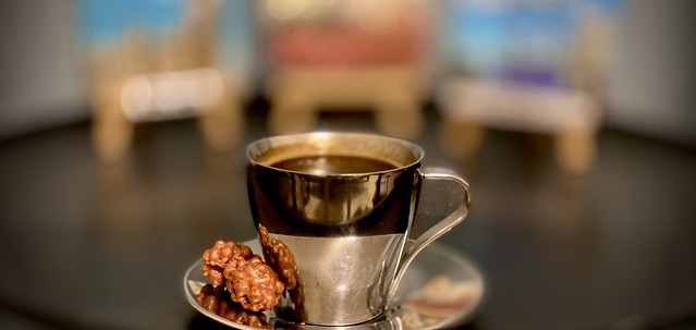 Turkish Coffee served with Turkish Delight (Chocolate) @ Home