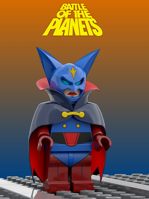 Battle of the planets - Zoltar ( Lego )