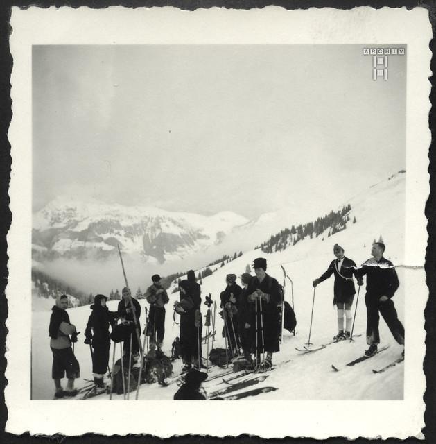 ArchivTappen2AAl2e792 Urlaub in den Bergen, Fotoalbum, 1930-1948